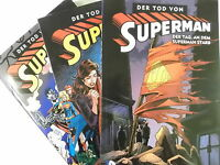 Auswahl = DER TOD VON SUPERMAN  1 2 3 4 von 4 ( Softcover & Hardcover ) NEU
