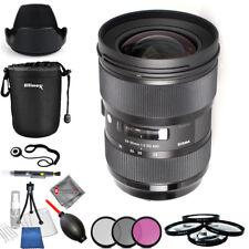 Sigma 24-35mm F2 DG HSM for Nikon USA Model Pro Bundle Brand New