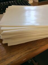 50 waxed paper sheets -  Crafts - Soap Making - Cream Size 19cm x 25cm