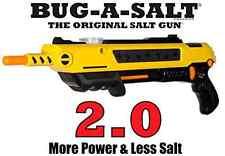 Bug-A-Salt 2.0 Salt Gun Kills Flies Mosquitos Pest Insects Bugs Home PatioNew