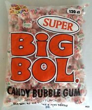 Super Big Bol 120 Count Bag Albert Candy Bubble Gum Bulk Candies Free Ship 120ct