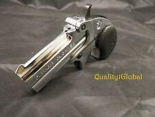 LIMITED EDITION Replica 1866 CROME Finish Double Barrel Derringer MOVIE PROP Gun