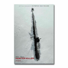 F-643 Fabric Poster Attack of the Killer Donuts Horror TV Series Show room decor