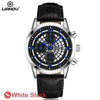Men's Sports Luxury Date Quartz Casual Chronograph Wrist Watches