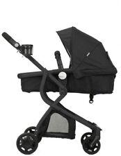 Urbini Omni Grey Triple Seat Stroller + car seat