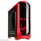 Kolink Aviator Red USB 3.0 Gaming Tower Case Tool LED ATX mATX Mini ITX