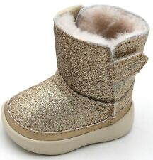UGG AUSTRALIA BABY GIRL ANKLE BOOTS BOOTIES WINTER CASUAL CODE I KEELAN GLITTER