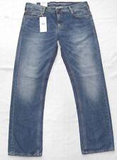 Mustang Herren-Straight-Cut-Jeans aus Baumwolle mit niedriger Bundhöhe (en)