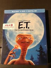 E.T. The Extra-Terrestrial New Sealed Blu-ray + DVD Limited Edition Steelbook