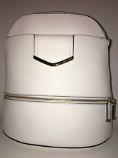 Calvin Klein Women's White Handbag Belfast Signature Backpack
