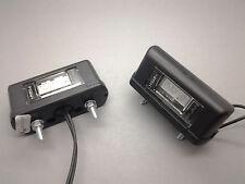 2 X MONARK LED 12 V & 24 V NUMBERPLATE LAMP FOR TRUCK TRAILER CAR BIKE ATV