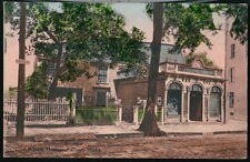SALEM MA Old Witch House Antique Postcard Early Old Vtg Town View Mass PC