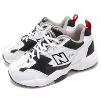 New Balance WX608RB1 D Wide White Black Women Running Daddy Shoes WX608RB1D