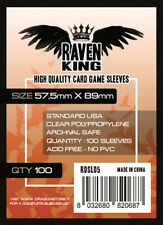 Raven King - Bustine protettive 57 5x89mm