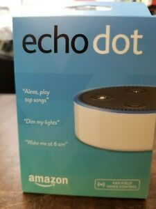 NEW Amazon Echo Dot 2nd Generation Smart speaker with Alexa - white (US Version)