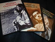Human Condition DVD Trilogy SET Part I, II, III Masaki Kobayashi Complete Films