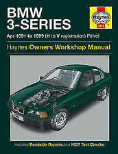 3 Series Haynes 1991 Car Service & Repair Manuals