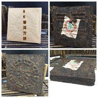 """1996yr Yunnan""""MengHai FangZhuang""""Pu'er Tea Brick/500g/Ripe/Shu/Cooked"""