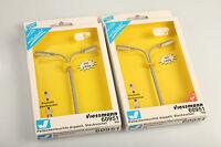 Viessmann H0 60951 2 Peitschenleuchten LED Schrankvorrat 4 verm. nie benutzt.