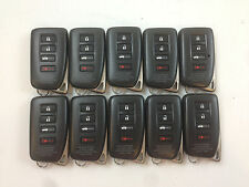 LOT OF 10 LEXUS OEM SMART KEY LESS ENTRY REMOTE CONTROL RC IS 14-17 UNLOCKED FOB