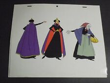 Happily Ever After (1990 film) EVIL QUEEN Animation Painted Model Cel Filmation