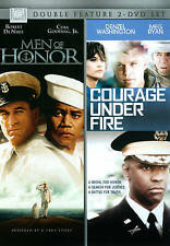 Courage Under Fire/Men of Honor (DVD, 2014, 2-Disc Set) (FAST SHIPPING!)