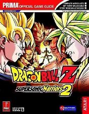 Dragon Ball Z Supersonic Warriors 2 Prima Official Game Guide