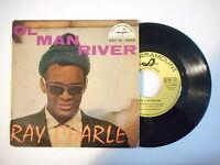 RAY CHARLES : OL' MAN RIVER ► EP / 45 ◄ PORT GRATUIT