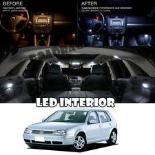 For 93-98 Volkswagen VW Golf MK3 LED Interior Light Bulb Full White Package Kit