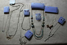 Rrp £68+ Necklaces,earrings,bracel et Joblot Large Jewellery Bundle New with Tags