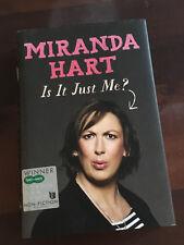 Is It Just Me? von Miranda Hart (2012, Buch gebunden) englisch