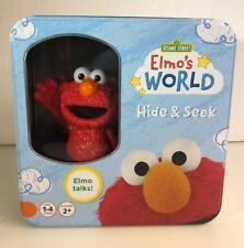 Elmo's World Hide and Seek Game Features Talking Elmo from Sesame Street H1