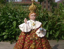 BEAUTIFUL Large infant jesus of prague Statue Figurine 12'' Religious gifts