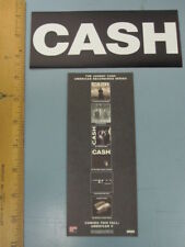 JOHNNY CASH 2003 american recordings promotional sticker New Old Stock Flawless