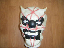 CLOWN SHAWN CRAHAN LATEX SLIPKNOT MASK FANCY DRESS UP WRESTLING ADULT COSPLAY