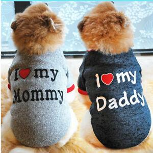 Hot Pet Dog Clothes Fleece Sweater Small Cat Puppy T Shirt Vest Costume Apparel