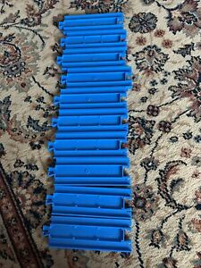 Thomas & Friends Light Blue Tomy Trackmaster Track Bundle, 10 X Short Straights