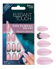 Elegant Touch False Nails - Nocturnal Dreams Twilight Dreams (24 Nails)
