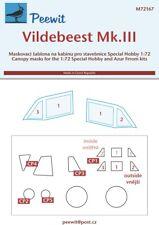 Peewit 1/72 Vickers Vildebeest Mk.III/Vincent # PEE72167