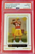 Aaron Rodgers 2012 TOPPS Chrome Rookie Reprint PSA 10 GMT Packers!