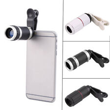 Universal 8-18x Zoom Optical Mobile Phone Telescope Telephoto Camera Len+Clip CA