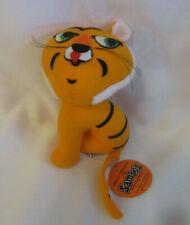 Vintage Sambo's Restaurant Orange Tiger Plush stuffed animal Rare New Old Stock