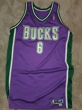 Andrew Bogut Bucks Game Issued Worn Used Jersey Signed Autographed Rookie