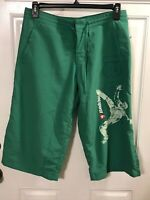 Le Coq Sportif Swimming Shorts New Green Mens Size Large