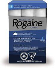 Rogaine Men's Hair Loss & Thinning Treatment for Hair Regrowth, 5% Minoxidil Foa