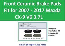 Front Ceramic Brake Pads Fit for 2007 2008 2009 2010 2011 2012 - 2017 Mazda CX9