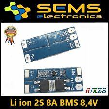 BMS 2S 8A Li-Ion LiPo Battery 18650 Charger Protection Board 8.4V no balance