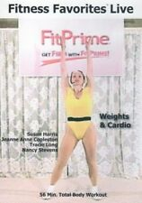 FIT PRIME FITNESS FAVORITES LIVE WEIGHTS & CARDIO FITPRIME DVD NEW THE FIRM