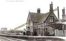 Appley Bridge Railway Station Photo. Gathurst - Parbold. Wigan to Burscough. (3)
