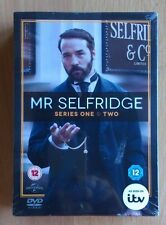 Mr Selfridge: Seasons 1 & 2 Region 2 DVD Box Set - Brand New Factory Sealed